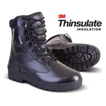 Full Leather Patrol Boots