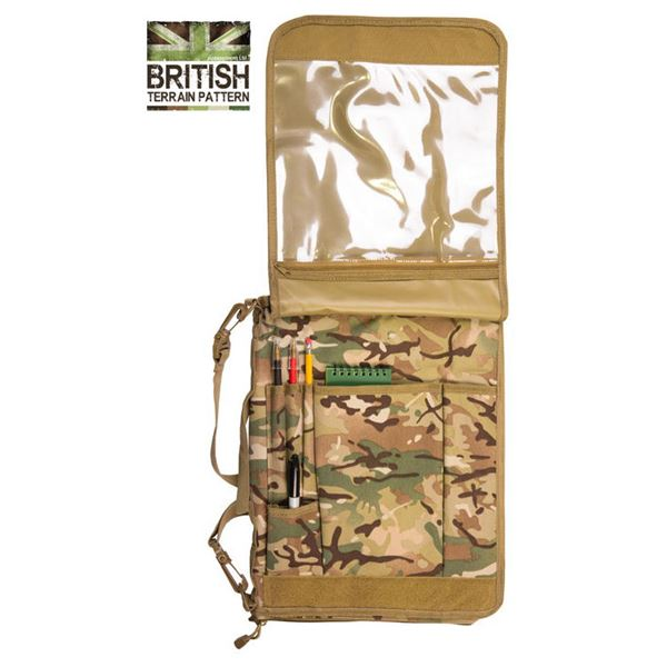 Army Combat Military A4 Folder Binder