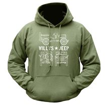 Willy's Jeep Hoodie