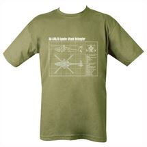 Apache Gunship T-shirt
