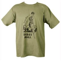D-Day Doll T-shirt