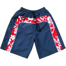 Mens Flower Swim Shorts